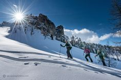 Dolomites Haute Route Ski Tour – 6 Days Guided from Off Piste Skiing, Ski Touring, Sight & Sound, Beautiful Places To Visit, Travel Destinations, Hiking, Journey, Tours, Italy