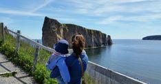 Un tour de la Gaspésie en 10 jours avec un promeneur de 10 mois.