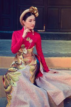 Hoa khôi Du lịch Huế 2016 duyên dáng áo dài hoa sen Đại nội - MegaFun - Cổng giải trí trực tuyến
