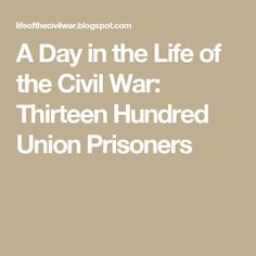 65 Best Union POW's images in 2018   America civil war, Prisoners of