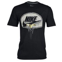 Nike Graphic T-Shirt - Men's at Foot Locker Nike Mens Shirts, Nike Clothes Mens, 3d T Shirts, Casual T Shirts, Printed Shirts, Nike Shirt, Shirt Print Design, Shirt Designs, Big Kids Clothes