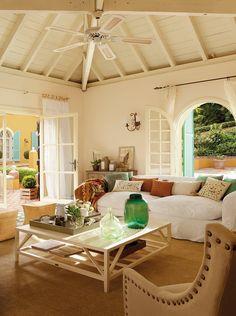 ¡Evita el calor! Ideas para tener una casa más fresca · ElMueble.com · Escuela deco