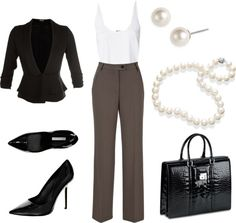 """""""Perfect cute interview outfit"""" by brijoi on Polyvore"""