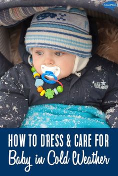 Dressing your newborn for winter can be hard. Here are tips on care for infants during the winter season! your newborn for winter can be hard. Here are tips on care for infants during the winter season! The Babys, Before Baby, After Baby, Kids Fever, Baby Fever, Gentle Parenting, Parenting Tips, Parenting Classes, Parenting Toddlers