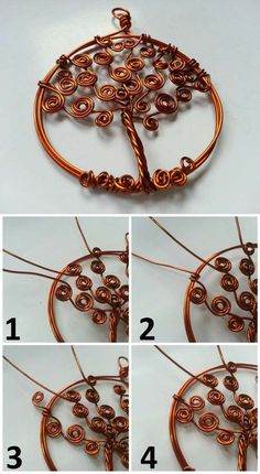 Tree of Life Pendant Ideas and Projects   DIY Tree of Life Pendant Variation by DIY Ready at http://diyready.com/12-diy-tree-of-life-ideas/