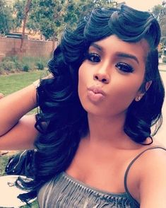Online Shop Brazilian Virgin Hair Bundles Loose Wave Remy Human Hair Off Now, DHL Worldwide Shipping,Store Coupons Available. Love Hair, Gorgeous Hair, Remy Human Hair, Human Hair Wigs, Remy Hair, Weave Hairstyles, Wedding Hairstyles, Black Hairstyles, Fashion Hairstyles