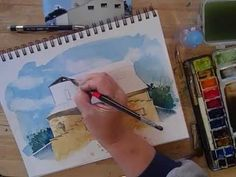 ▶ Watercolor Sketching Part 2 BONUS VIDEO - with Cathy Johnson - YouTube