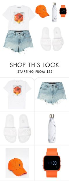 """""""Untitled #33"""" by aesthetic-jiminie ❤ liked on Polyvore featuring Billabong, Alexander Wang, Puma, S'well, Polo Ralph Lauren and 1:Face"""