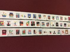One gallery of RHS students' work celebrating Black History Month through a study of Jacob Lawrence's Migration Series.