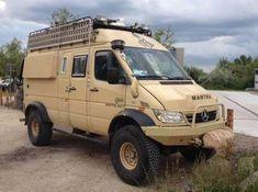 MB off-road motorhome Auto Camping, Off Road Camping, Van Camping, Mercedes Benz Bus, Mercedes Sprinter Camper, Sprinter Van, Bus Camper, 4x4 Camper Van, Offroad Camper