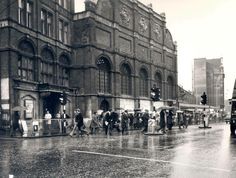 Liverpool Street Train Station City of London England in the 1970's