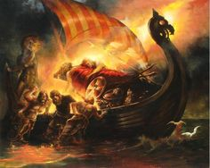 valhalla painting - Google Search