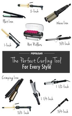 The perfect curling iron for whichever style you want!
