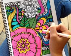 Adult coloring books!