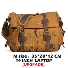 Men Canvas Messenger Bags Designer Brand Vintage Crossbody Bags Laptop Bags  I AM LEGEND Military Handbags 4ba9abf455