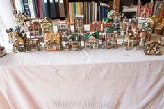 Step by step instructions on how to create a Christmas village display as a family tradition. Included are money saving tips and a step by step video! Christmas Events, Christmas On A Budget, Christmas Party Games, Christmas Ribbon, Merry Little Christmas, Diy Christmas Gifts, Christmas Fun, Christmas Decorations, Christmas Ornaments