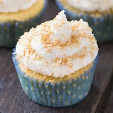 These vanilla cupcakes, made with coconut flour for extra fiber, are perfect for any occasion. Whether you're baking for a birthday, a bake sale, or just for fun, they're a cinch to whip up and are sure to be a hit!