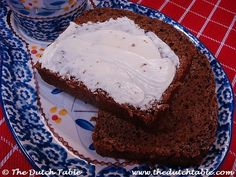 Ontbijtkoek. Dutch spiced bread for the game at Daphne's party.