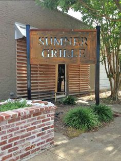 Sumner Grill -- Small Town Dining in the Mississippi Delta Retail Signs, Store Signage, Mississippi Delta, Small Towns, The Good Place, Life Is Good, Ms, The Neighbourhood, Places To Visit