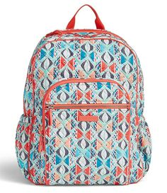Go Fish:Iconic Campus Backpack Cute Backpacks, School Backpacks, Cute Ipad Cases, Backpack Brands, Travel Kits, Vera Bradley Backpack, Clutch Wallet, Dillards, Baggage Claim