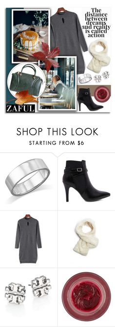 """""""Zaful 86"""" by melissa-de-souza ❤ liked on Polyvore featuring GUESS, Tory Burch, Lipstick Queen and zaful"""