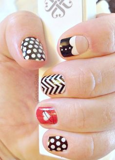 This is my FAVORITE Jamberry nail wrap combo I've seen yet! An original JB creation ; Jamberry Nail Wraps, Nail Stuff, Cool Nail Designs, Toe Nails, You Nailed It, Hair And Nails, Finger, Projects To Try, Awesome
