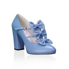 Acacia Lavender Blue pumps by Minna Parikka Blue Pumps, Lavender Blue, Kinds Of Shoes, Chunky Heels, Character Shoes, Dance Shoes, Blue And White, Footwear, Wedges
