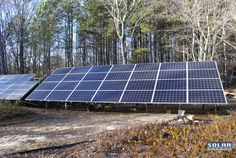 A customer in Marietta, Georgia has a garage filled with high mpg-rated electric vehicles that can be plugged in and recharged.  His backyard is filled with solar with 120 photovoltaic (PV) solar panels, including this 6.72kW solar panel ground mount system we recently completed, and a solar thermal system for heating his pool. His property also includes geothermal home heating and cooling as well as a wind turbine. This customer wants total energy independence.  Go to…
