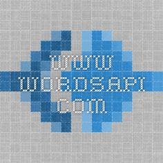 www.wordsapi.com