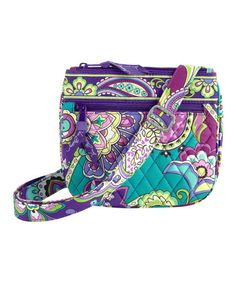 263e852935 Vera Bradley Heather Little Flap Hipster Crossbody Bag