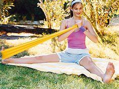 Theraband-Übungen für die Sommerfigur