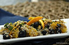 Blueberry & Walnut Quinoa Salad
