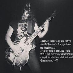 Euronymous  #Mayhem