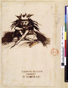 Le dernier bouffon songeant au dernier roi. Hugo Victor.