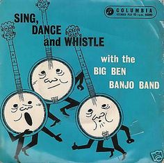 Pretty flowers steve martin on the banjo vince gill and dolly big ben banjo band sing dance and whistle 7 ps ex ex ebay mightylinksfo Images