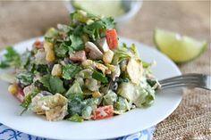 Southwest Chicken Chop Salad Final 3 | by laurenslatest