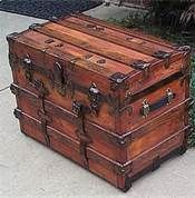 vintage trunks and chests - Bing Images