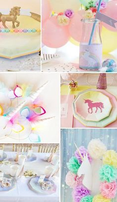 A fairy tale comes to life at this unicorn party Party Unicorn, Unicorn Birthday Parties, Baby Birthday, Party Gifts, Party Favors, Diy For Kids, Gifts For Kids, Festa Party, Pony Party