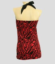 #LO #zebra #red #Long #Top #Pin #up #street #fashion #over #the #top  Don't you adore promotions? Don't miss out! Claim YOUR rocking 15% discount code: http://eepurl.com/boSy7H