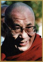 """Whether one believes in a religion or not, and whether one believes in rebirth or not, there isn't anyone who doesn't appreciate kindness and compassion."""" -- His Holiness the Dalai Lama, from """"Kindness, Clarity, and Insight"""" by Snow Lion Publications."""