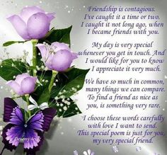 Wendy,you are a special friend and a blessing to me.have a restful night.