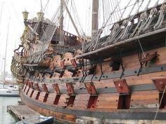 The Neptune galleon, from Polanski's Pirates! (1986)