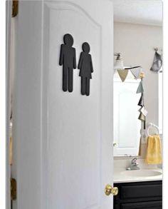 DIY Bathroom door