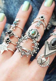 Devil's Point Black Onyx Sterling Silver Ring