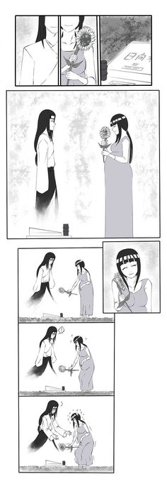 Neji caring for Hinata, even after his story ended.