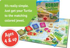 Robot Turtles Board Game - It;s the first board game for little programmers.