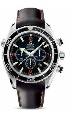 Omega Seamaster Planet Ocean 600 M Co-Axial Chronograph 45.5 mm SS Rubber Strap