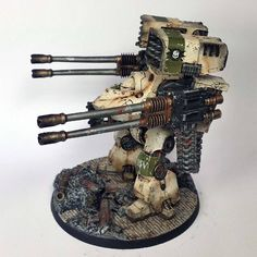 Checkout this great looking Death Guard Contemptor who was chosen by the Primarch Mortarion himself for the honor of entombment?