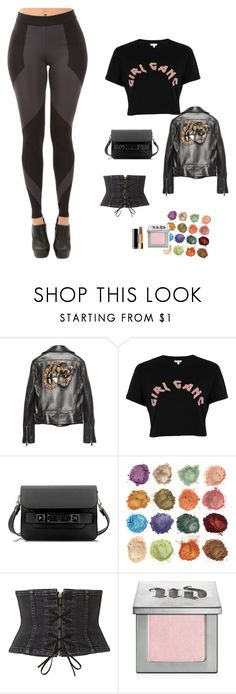 """""""7th Bee"""" by zeynepkartal on Polyvore featuring moda, Gucci, River Island, Proenza Schouler, Witchery, Urban Decay ve Chanel"""