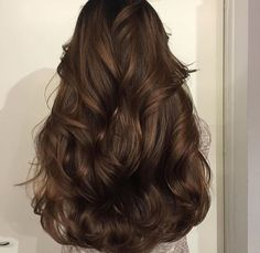 Espresso Base with Hazel Ribbons - 60 Chocolate Brown Hair Color Ideas for Brunettes - The Trending Hairstyle Chocolate Brown Hair Color, Brown Hair Colors, Chocolate Hair, Mocha Brown Hair, Chocolate Highlights, Hair Day, New Hair, Cabelo Inspo, Gorgeous Hair